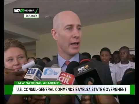 Ijaw National Academy: U.S. Consul-General commends Bayelsa State govt