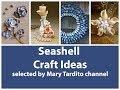 Seashell Crafts Ideas – Summer Decorating Ideas - Nature Crafts Ideas