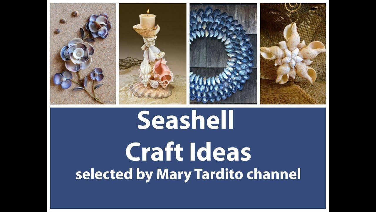 Seashell Crafts Ideas Summer Decorating Ideas Nature Crafts