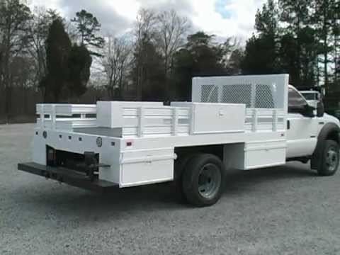 Ford F 550 For Sale >> 2006 Ford F550 12' Flatbed/Service Truck - YouTube