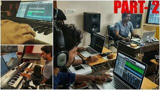 KGF: CHAPTER 2 ADHEERA BGM MAKING || ROCKY ENTERING ADHEERA'S TERRITORY BGM || Ravi Basrur Studio