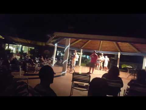 Karaoke @ the jolly beach resort and spa in Antigua