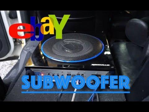 Download Installing a 10 inch EBAY SUBWOOFER