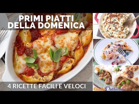 Primi piatti della domenica 4 ricette facili e buone for Cucina italiana primi piatti
