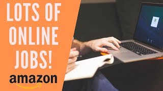 Amazon Work-From-Home Jobs Hiring Now for 2019