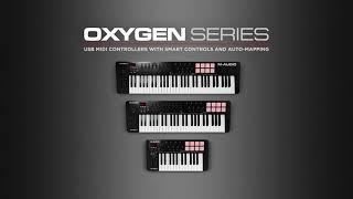 M-Audio Oxygen Series MKV Overview Video