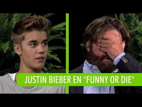 "Justin Bieber ""Nalgeado"" Por Zach Galifianakis!"