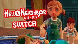 Hello Neighbor Hide & Seek Switch Stage 1