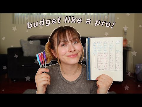 How I Save Money And Budget As A 20 Year Old Part-Time Working College Student