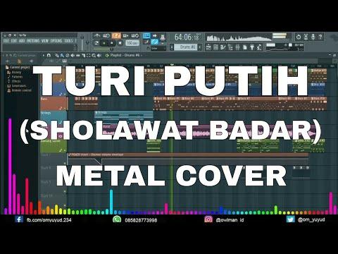 Turi Putih (Sholawat Badar) - Cover Metal & Dangdut Jaranan FL Studio