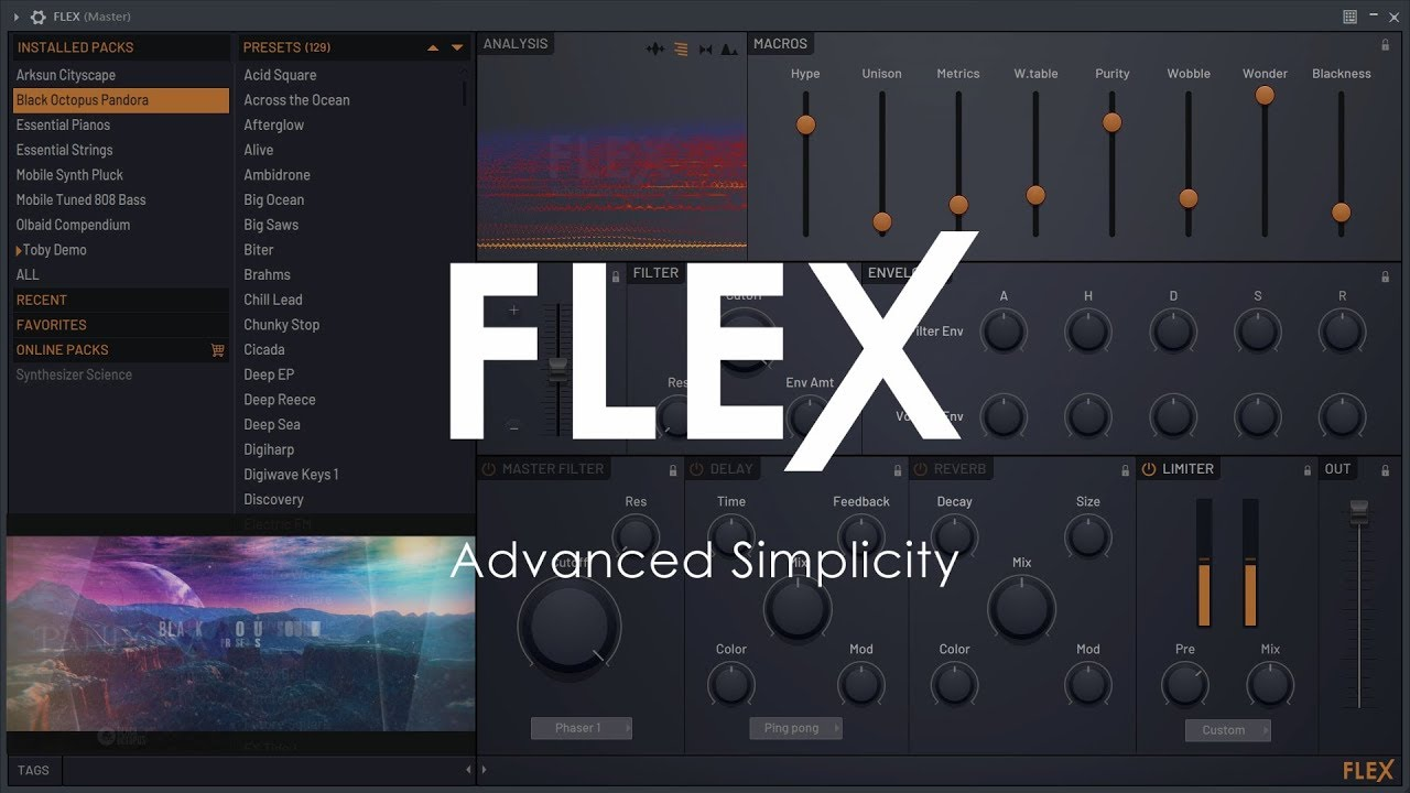 Image-Line intros FLEX synthesizer with FL Studio 20 1 2 (Beta)
