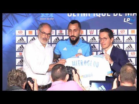 La conférence de presse de présentation de Kostas Mitroglou en intégralité