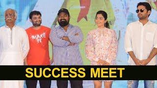 Bheeshma Movie Success Meet | Nithiin | Rashmika | NTV Entertainment