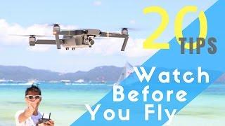 dJI Mavic Pro  ULTIMATE BEGINNERS GUIDE  Watch Before You Fly