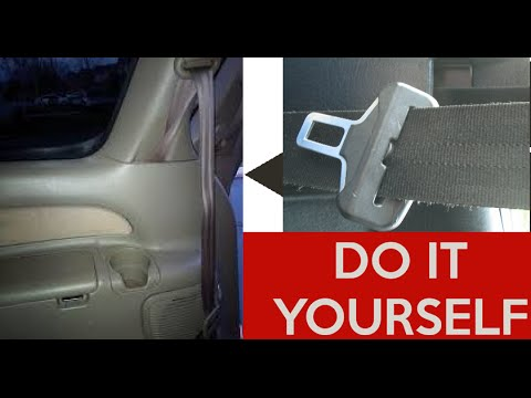 How To Fix Repair A Stuck Seatbelt Retract Seat Belt Toyota Ford