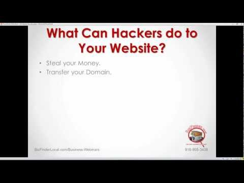 Secrets to Stopping Hackers Before They Trash Your Website - Highlights