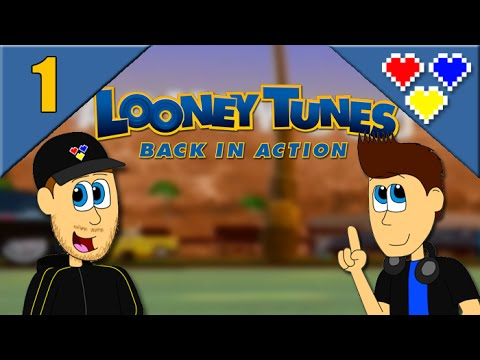 Looney Tunes: Back in Action - PS2 - Part 1 - YouTube