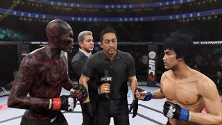 Hell Zombie vs. Bruce Lee (EA Sports UFC 2) - CPU vs. CPU