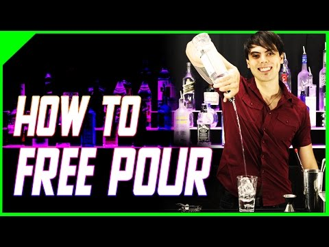 How to Free Pour | Bartending School at Home