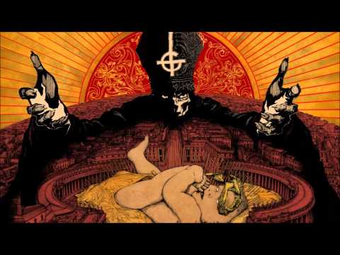 Ghost - Monstrance Clock