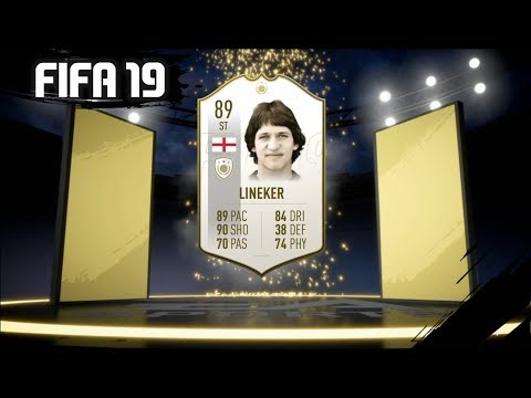FIFA 19 ICON LINEKER REVIEW | 89 GARY LINEKER PLAYER REVIEW | FIFA 19 ULTIMATE TEAM