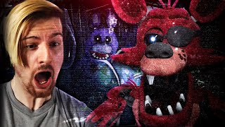 ONE OF THE EERIEST FNAF GAMES I HAVE EVER PLAYED. (3 FNAF games)