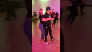 David Herrera and Jennifer Silvas of Los Angeles @ Dallas Bachata festival  sunday 10/29/17