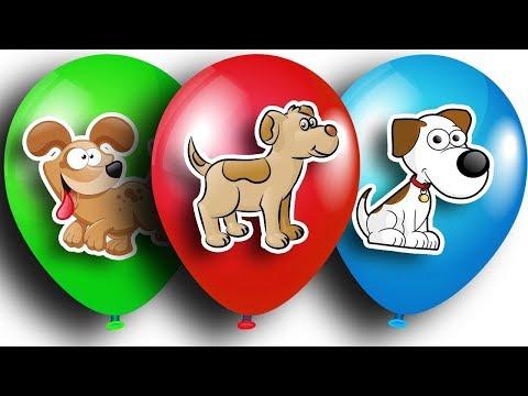 Шарики с сюрпризами. Киндеры с игрушками БАРБОСКИНЫ. Color Balloons Compilation, Surprise Eggs