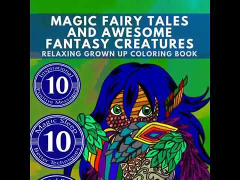 free-printables:-grown-up-coloring-book---magic-fairy-tales-and-awesome-fantasy-creatures---diy-art