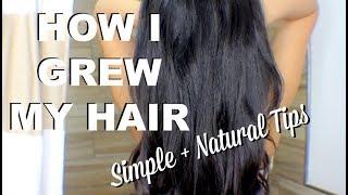 Hair Care Routine for Long Healthy Hair