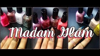 Love At First Swatch - Madam Glam Nail Lacquers