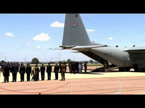 SABC TV Live Stream Coverage: Mandela plane lands in Eastern
