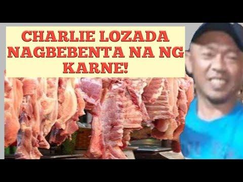 BAGONG BUSINESS NI CHARLIE LOZADA | ANG PAGBEBENTA NG KARNE | #charlielozada