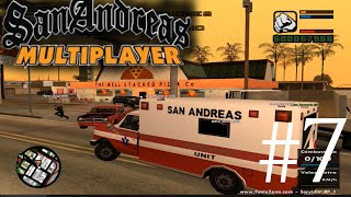 GTA SA Multiplayer RolePlay #7 Trabajando de MÉDICO
