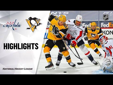 Capitals @ Penguins 2/16/21 | NHL Highlights