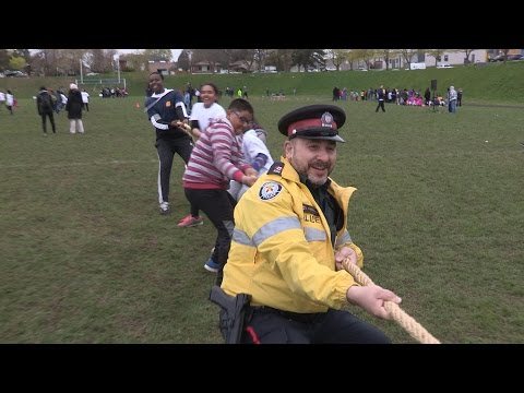 @TorontoPolice 'May The Police 4th Be With You' Event at Cedarbrae Collegiate