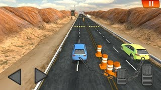 Chained Cars against Ramp Android IOS Gameplay HD - Best New Car Games for Kids #cars