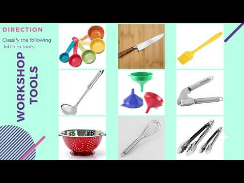 Classification Of Kitchen Tools And Equipment T L E Grades 7 8 Commercial Cooking Cookery Info 3 Youtube
