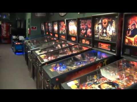 the pinball store tour orange ct youtube. Black Bedroom Furniture Sets. Home Design Ideas