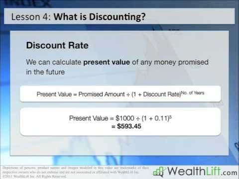 Stock Investing Lesson 4 - Using Discounted Cash Flow (DCF) Analysis