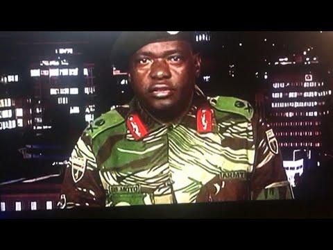 Mugabe is 'safe and sound' Zimbabwe's army says