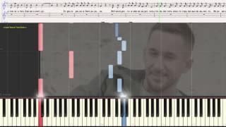 "Романс (Без тебя жизни нет...) - гр. ""Пицца"" (Ноты и Видеоурок для фортепиано) (piano cover)"