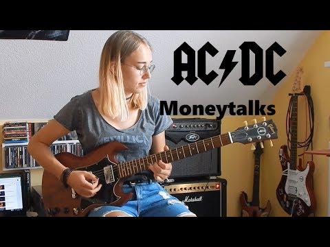 Moneytalks ACDC Guitar