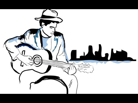 Just Another Blues - Backing Track in Em - HD 1080p
