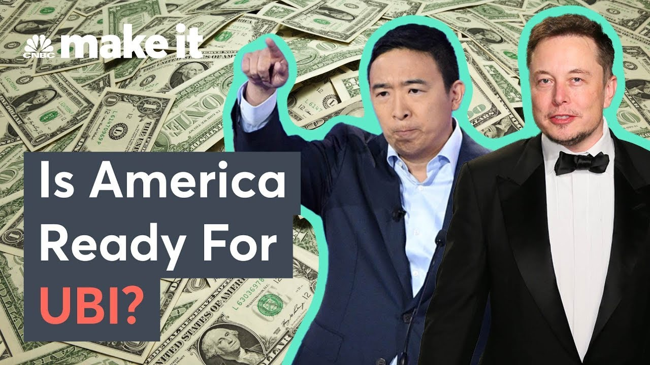 Download Elon Musk And Andrew Yang Support UBI -  Is America Ready?