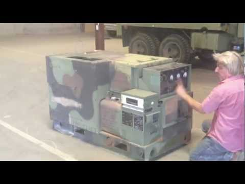 10KW Diesel Military Generator with Sound Suppression Kit.