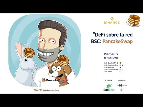 DeFi sobre la red Binance Smart Chain: Pancakeswap