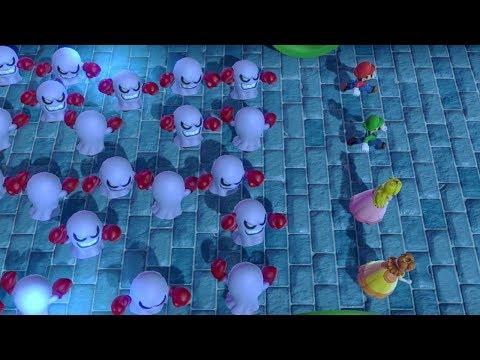 Super Mario Party - Square Off - Mario VS Luigi VS Peach VS Daisy