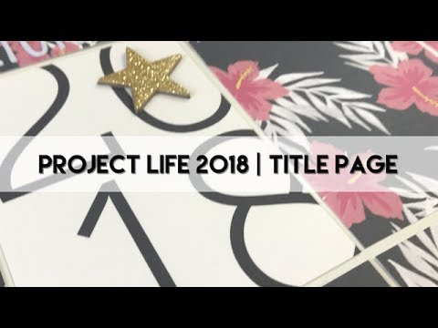 Project Life Process 2018 - Title Page