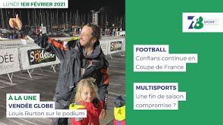 7/8 Sports. Emission du 1er février 2021